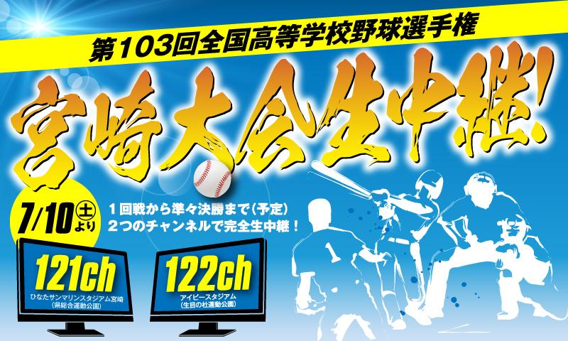 第103回全国高等学校野球選手権 宮崎大会