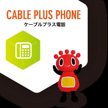 ケーブルプラス電話
